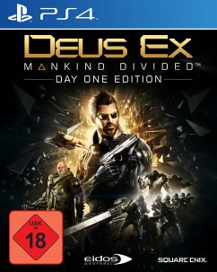 Deus Ex: Mankind Divided - Day One Edition (Pla...