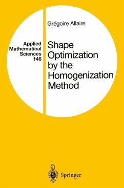 Shape Optimization by the Homogenization Method (eBook, PDF) - Allaire, Gregoire