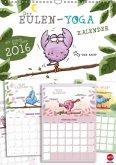 Eulen-Yoga-Kalender Planer (Wandkalender 2016 DIN A3 hoch)