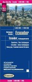 Reise Know-How Landkarte Ecuador, Galapagos- Inseln (1:650.000 / 1.000.000); Ecuador, Galapagos-Islands / Equateur, Ile