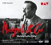Maigret & Co - Meisterhafte Fälle, 5 Audio-CDs