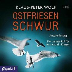 Ostfriesenschwur / Ann Kathrin Klaasen ermittelt Bd.10 (4 Audio-CDs) - Wolf, Klaus-Peter