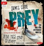 Prey - Deine Tage sind gezählt / Jefferson Winter Bd.3 (2 MP3-CDs)