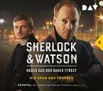 Die Spur des Teufels / Sherlock & Watson - Neues aus der Baker Street Bd.3 (1 Audio-CD)