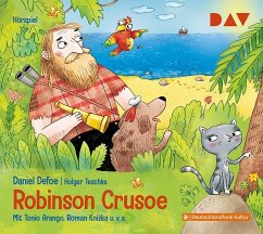 Robinson Crusoe, 1 Audio-CD - Defoe, Daniel