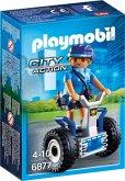 PLAYMOBIL 6877 Polizistin mit Balance-Racer