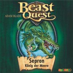 Sepron, König der Meere / Beast Quest Bd.2 (MP3-Download) - Blade, Adam
