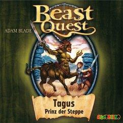 Tagus, Prinz der Steppe / Beast Quest Bd.4 (MP3-Download) - Blade, Adam