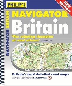 Philip's 2018 Essential Navigator Britain Flexi