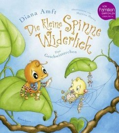 Das Geschwisterchen / Die kleine Spinne Widerlich Bd.4 - Amft, Diana