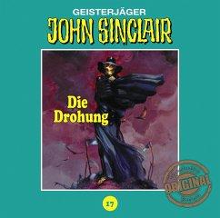Die Drohung (Teil 1 von 3) / John Sinclair Tonstudio Braun Bd.17 (1 Audio-CD) - Dark, Jason