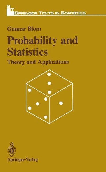Probabitily and Statistics (eBook, PDF)