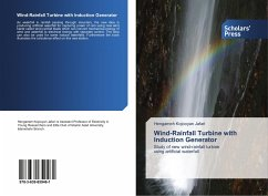 Wind-Rainfall Turbine with Induction Generator
