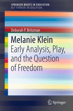 Melanie Klein (eBook, PDF) - Britzman, Deborah P.