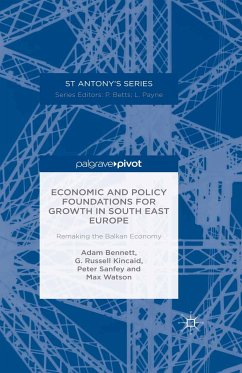 Economic and Policy Foundations for Growth in South East Europe (eBook, PDF)
