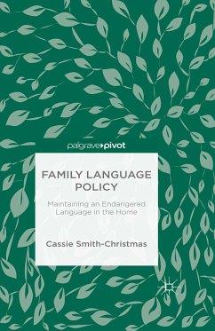 Family Language Policy (eBook, PDF)