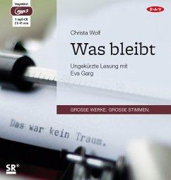 Was bleibt, 1 MP3-CD - Wolf, Christa