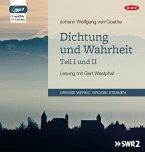 Dichtung und Wahrheit - Teil I und II, 2 MP3-CD