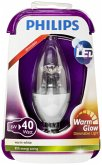 Philips LED Kerze E14 dimmbar 6W (40W) warmweiß 470lm klar