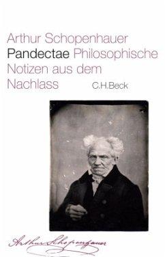 Pandectae - Schopenhauer, Arthur