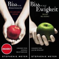 Biss-Jubiläumsausgabe - Biss zum Morgengrauen / Biss in alle Ewigkeit (MP3-Download) - Meyer, Stephenie