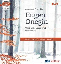 Eugen Onegin, 1 MP3-CD - Puschkin, Alexander S.