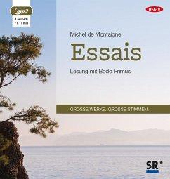 Essais, 1 MP3-CD - Montaigne, Michel de