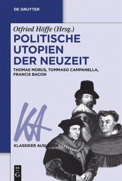 Politische Utopien der Neuzeit