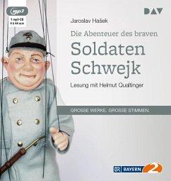 Die Abenteuer des braven Soldaten Schwejk, 1 MP3-CD - Hasek, Jaroslav