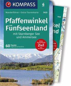 Pfaffenwinkel, Fünfseenland, Starnberger See, Ammersee - KV WF 5433 Pfaffenwinkel, Fünfseenland, Ammersee, Starnberger See