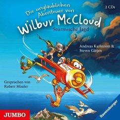 Stürmische Jagd / Die unglaublichen Abenteuer von Wilbur McCloud Bd.1 (2 Audio-CDs) - Gätjen, Steven; Karlström, Andreas