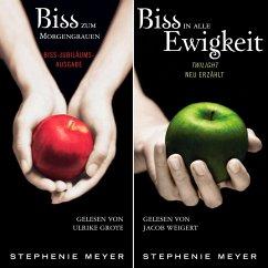 Biss-Jubiläumsausgabe - Biss zum Morgengrauen / Biss in alle Ewigkeit (gekürzt) (MP3-Download) - Meyer, Stephenie