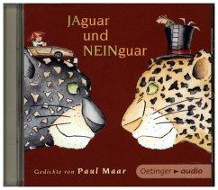 Jaguar und Neinguar - Gedichte von Paul Maar, 1 Audio-CD - Maar, Paul