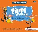 Pippi Langstrumpf - Die grosse Hörspielbox, 6 Audio-CDs