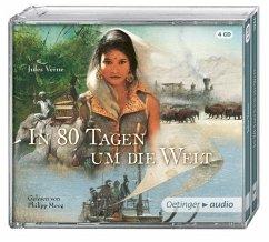 In 80 Tagen um die Welt, 4 Audio-CDs - Verne, Jules