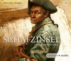 Die Schatzinsel, 4 Audio-CDs