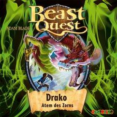 Drako, Atem des Zorns / Beast Quest Bd.23 (MP3-Download) - Blade, Adam