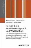 Person-Sein zwischen Anspruch und Wirklichkeit (eBook, PDF)