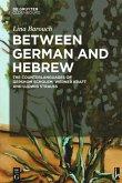 Between German and Hebrew