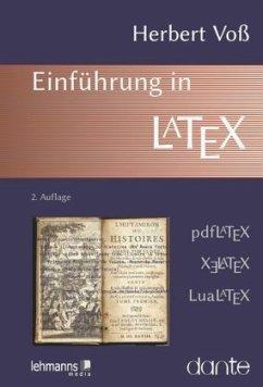Einführung in LaTeX - Voß, Herbert
