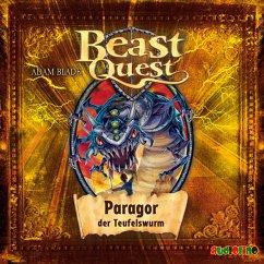 Paragor, der Teufelswurm / Beast Quest Bd.29 (MP3-Download) - Blade, Adam