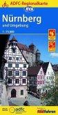 ADFC Regionalkarte Nürnberg und Umgebung mit Tagestouren-Vorschlägen, 1:75.000, reiß- und wetterfest, GPS-Tracks Downloa