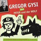 Gregor Gysi liest Peter und der Wolf, Audio-CD