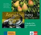 3 Audio-CDs zum Lehrbuch C1 / Aspekte NEU - Mittelstufe Deutsch