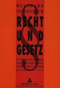 Recht und Gesetz - Nordsieck, Reinhard