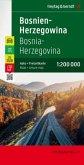 Freytag & Berndt Auto + Freizeitkarte Bosnien-Herzegowina, Top 10 Tips, Autokarte 1:200.000