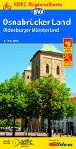 ADFC Regionalkarte Osnabrücker Land /Oldenburger Münsterland mit Tagestouren-Vorschlägen, 1:75.000, reiß- und wetterfest
