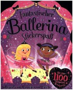 Fantastischer Ballerina Stickerspaß
