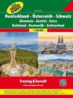 Freytag & Berndt Autoatlas Superatlas Deutschla...