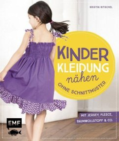 Kinderkleidung nähen ohne Schnittmuster